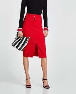 Zara skirt and top