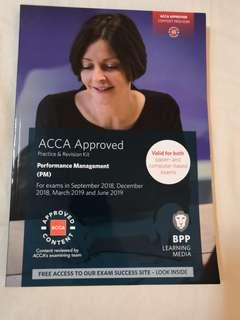 Latest'. Sep18-jun19 Acca F5  Performance Management (Pm) revision kits