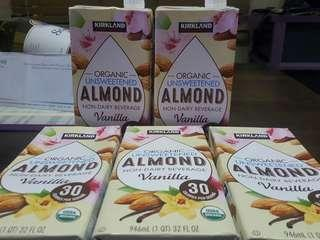 SEALED Organic Unsweeted Almond Non Dairy Milk