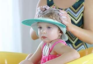 🚚 兒童洗髮帽 矽膠