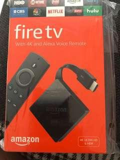 🚚 Amazon Fire Tv Pendent 4K HD streaming with Alexa voice remote