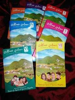 Monte Amor Classic novel- books