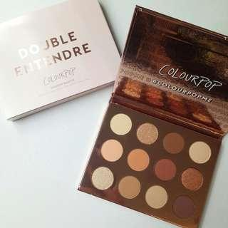 READY STOCK COLOURPOP DOUBLE ENTENDRE PALETTE