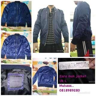 Zara man jacket uk L