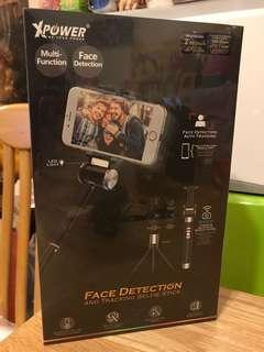 Xpower face detection and tracking selfie stick 自拍神器