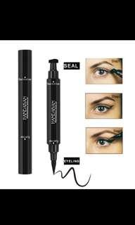 New 2 in 1 Waterproof Eyeliner & Eyeliner Seal