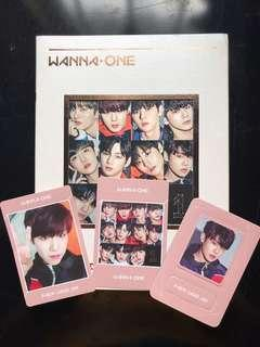 WANNA ONE PARK WOOJIN SET (WITHOUT UNDIVIDED ALBUM)