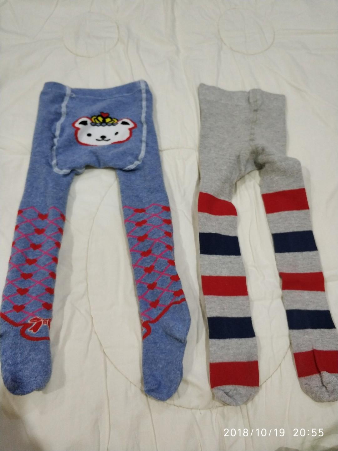 2 Pcs Celana Legging Kaos Kaki Baby Bayi Anak Baju Bayi Di Carousell