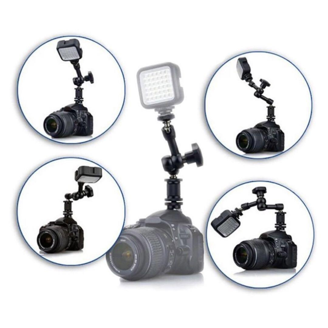 """7"""" or 11"""" Magic Arm : Adjustable Friction Articulating Arm For Stabilizer / DSLR / Field Monitor / LED Light / Microphone"""