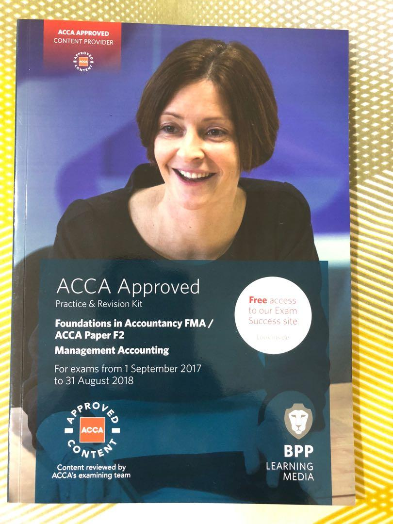 ACCA - BPP, F2 (Management Accounting - practice & Revision