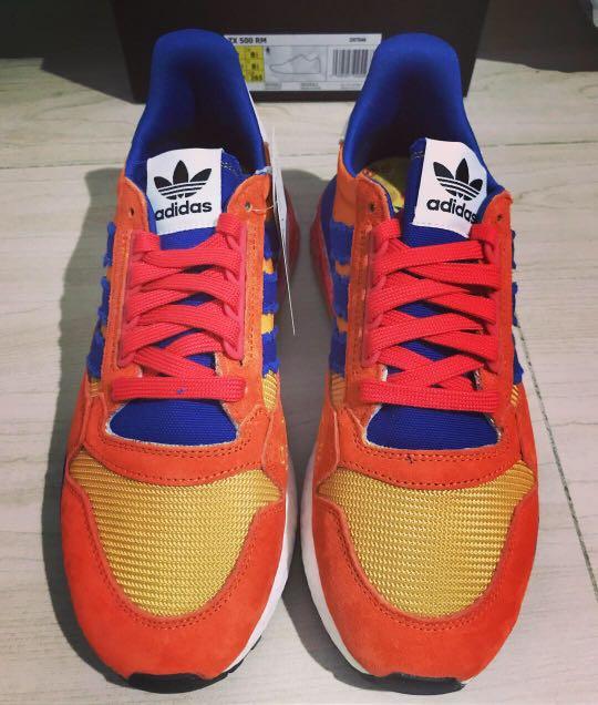 c3c4fa5122cda Adidas Dragon Ball Z - ZX 500 Restomod - Goku US Size9