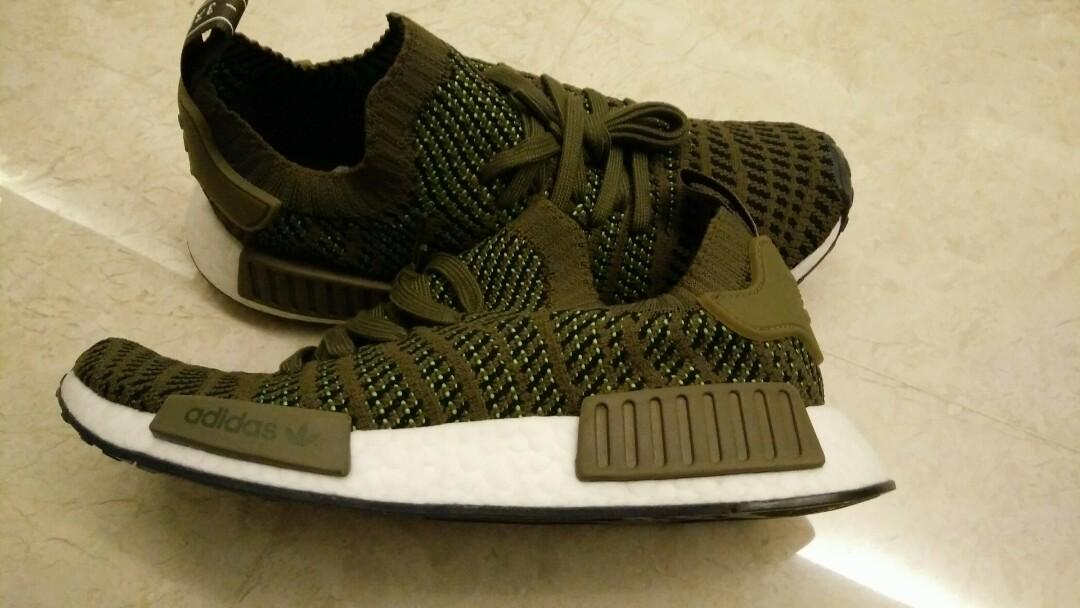 Adidas NMD Olive Slime Brand new