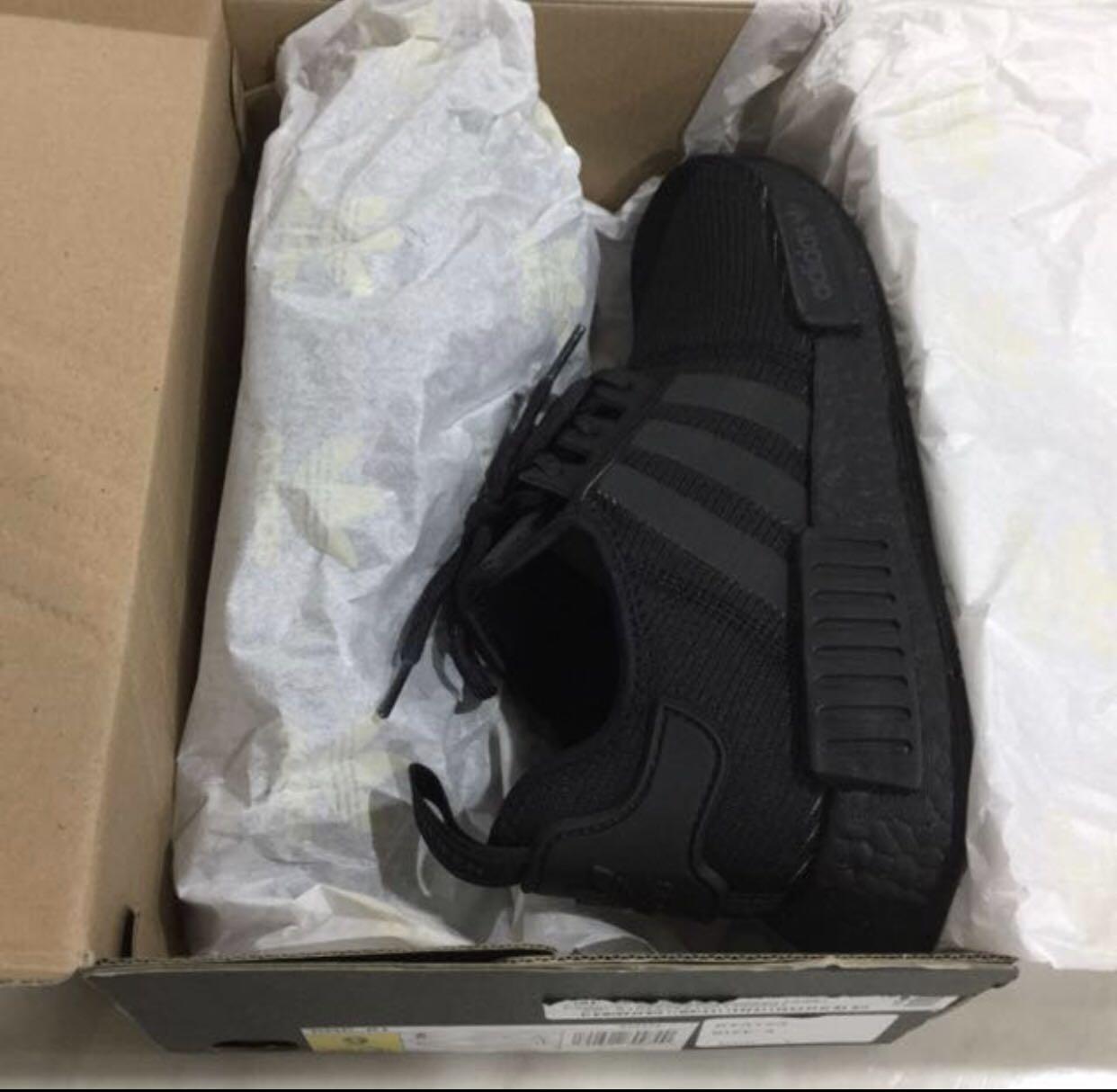 da8762e9 Adidas NMD XR1 Triple Black, Men's Fashion, Footwear, Sneakers on ...