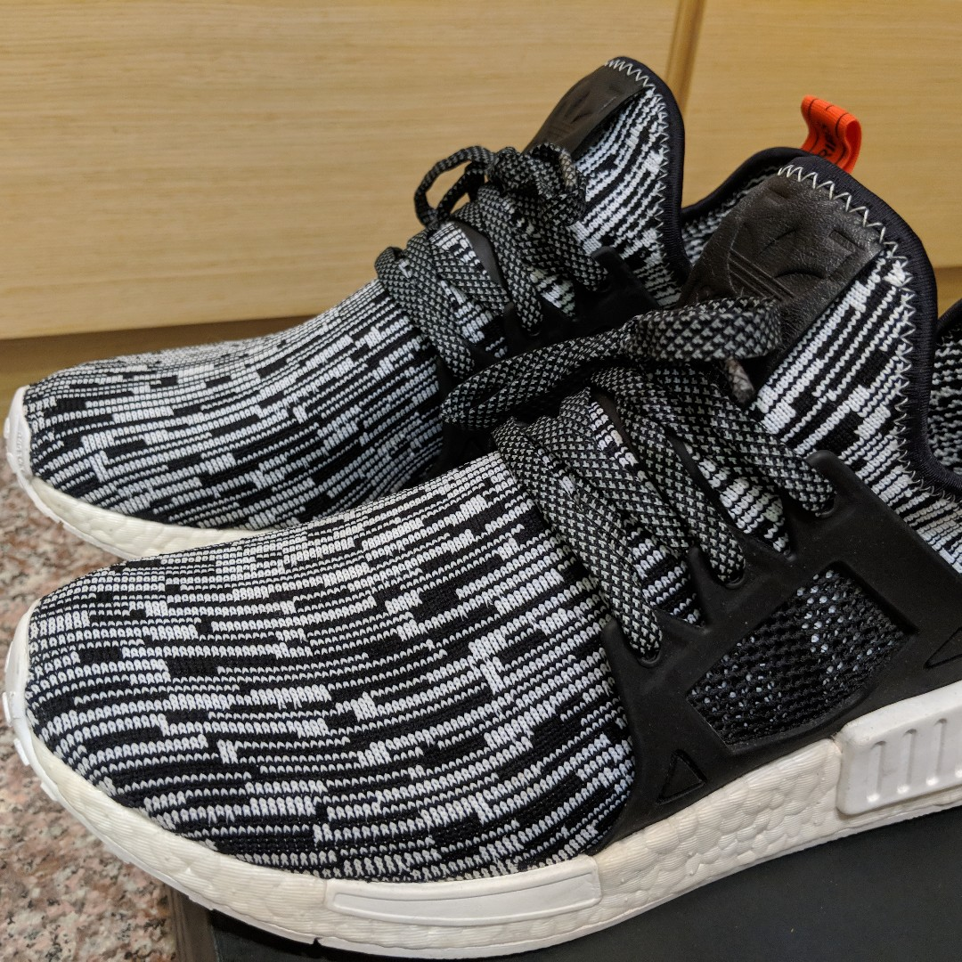 460832262 Adidas Originals NMD XR1 PK Glitch Camo Running White   Core Black ...
