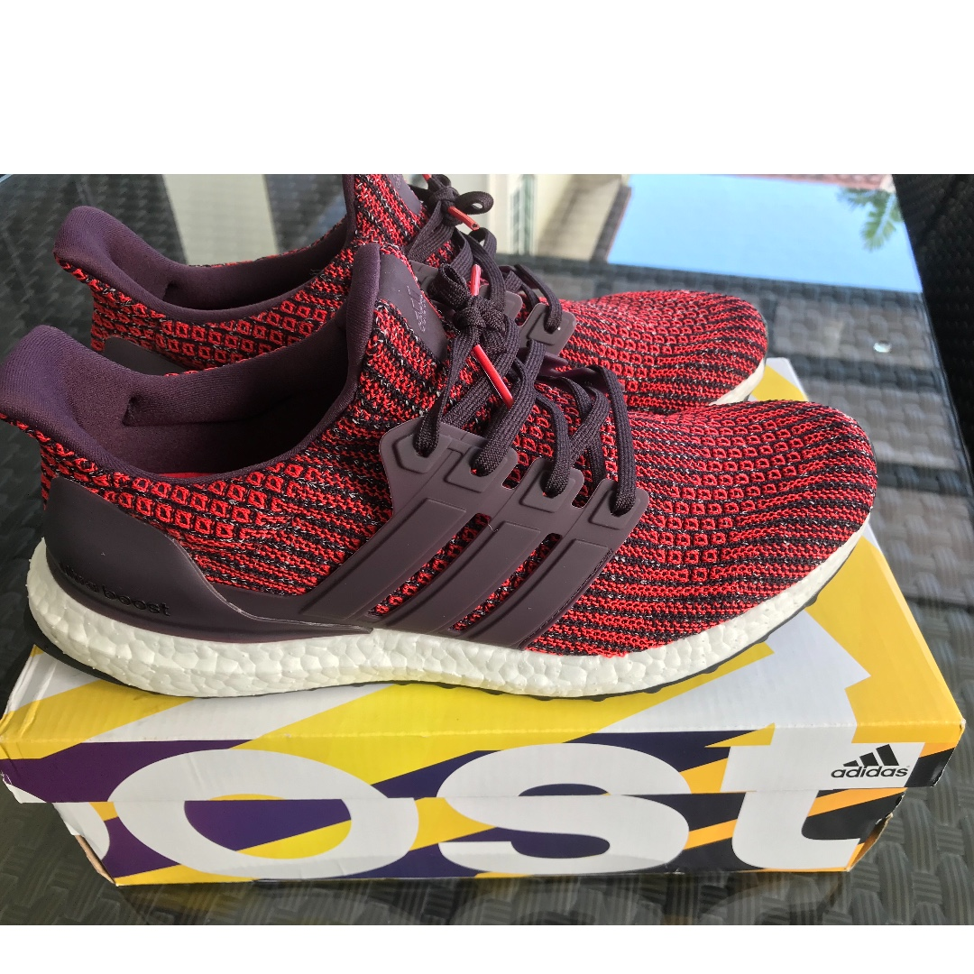 fce40319b3a9d Adidas ultraboost 4.0 Noble red  1month old