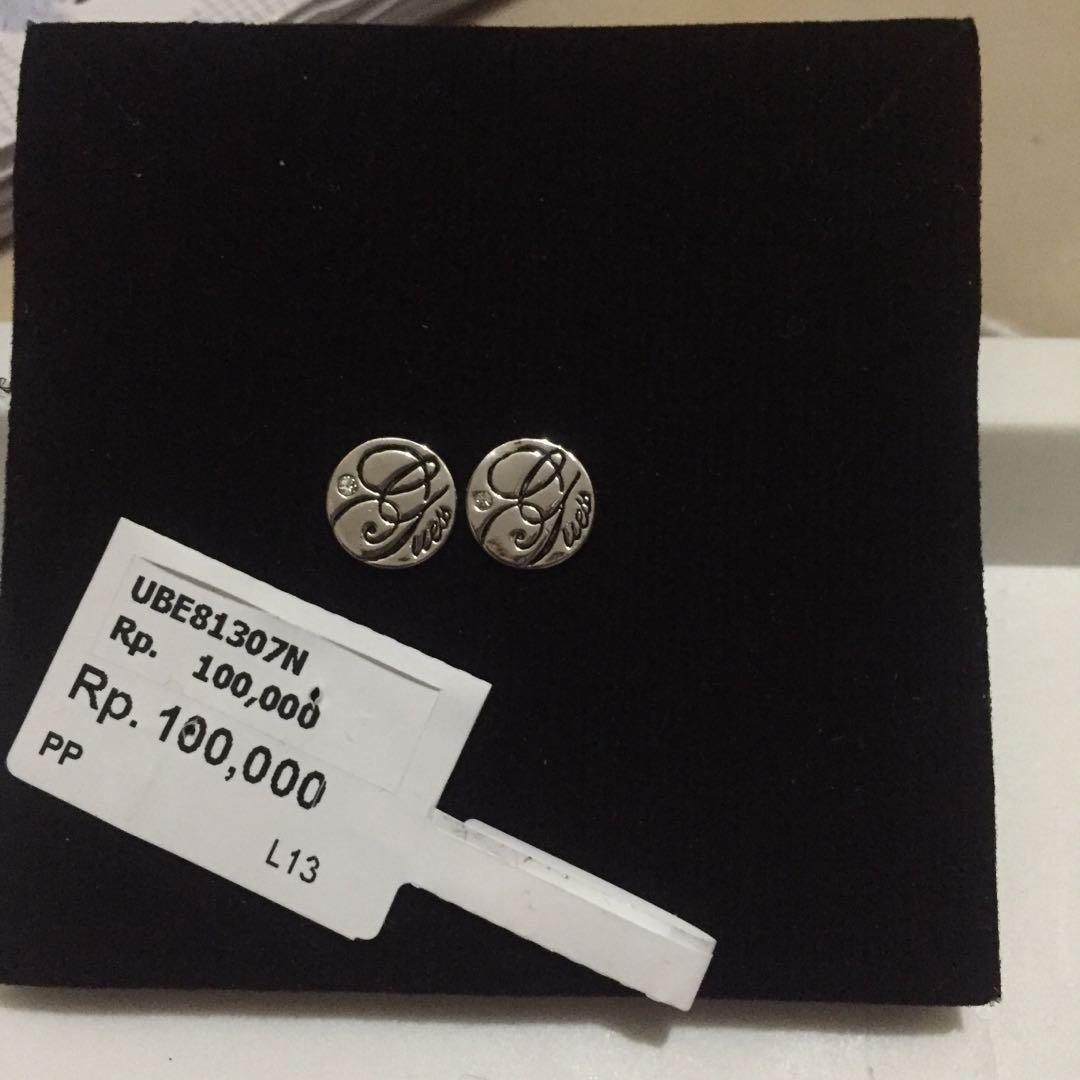 Anting guess silver authentic