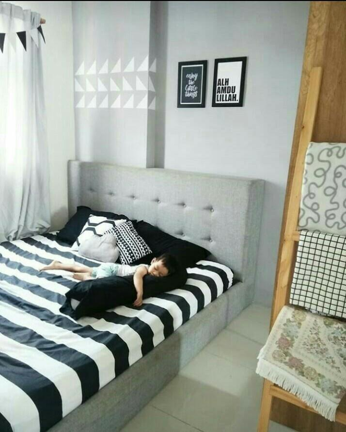 Apartemen Green Pramuka City 2BR Full Furnished + Electronics Unit Hook Tower Orchid Bawah Mall