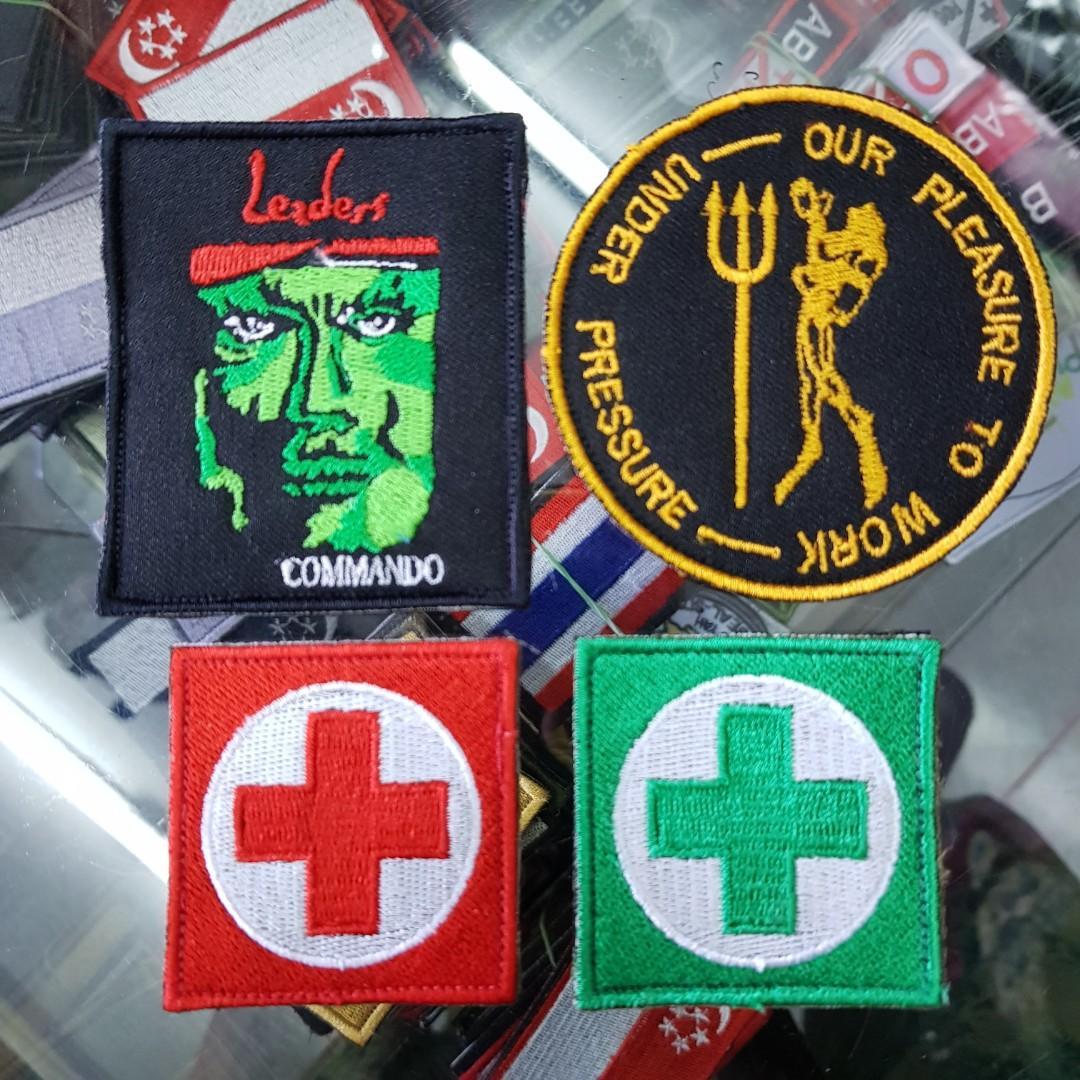 Army Velcro Patches!!, Design & Craft, Handmade Craft on