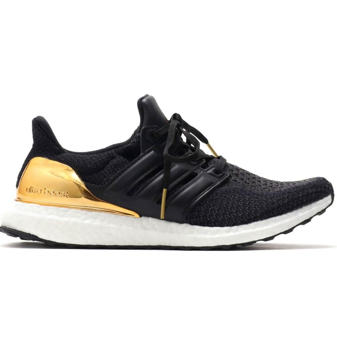 f7ef2d62 Authentic Adidas Ultra Boost Gold Medal, Men's Fashion, Footwear ...