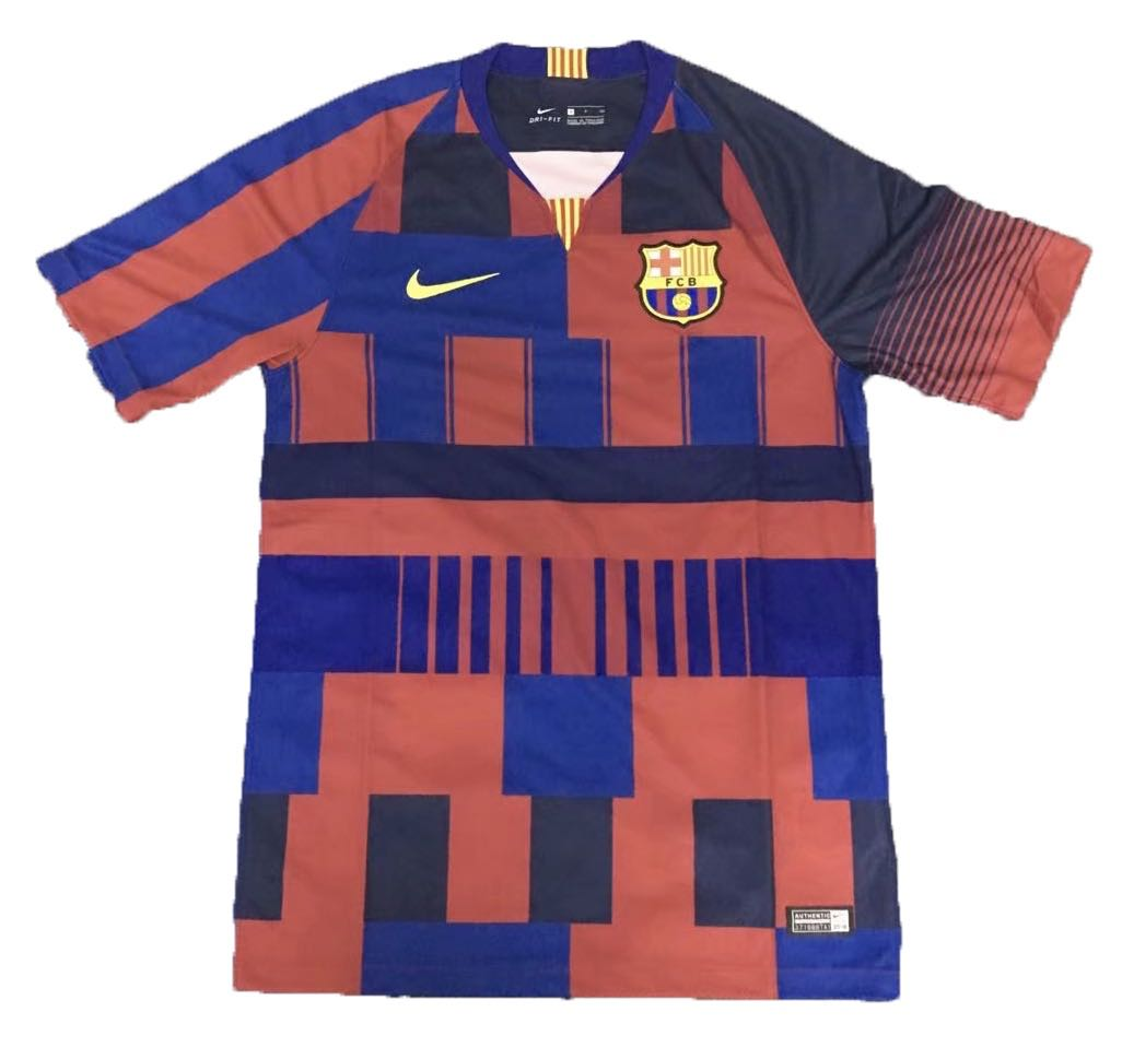 0d298fc49 Barcelona mash-up anniversary jersey 2018 collection
