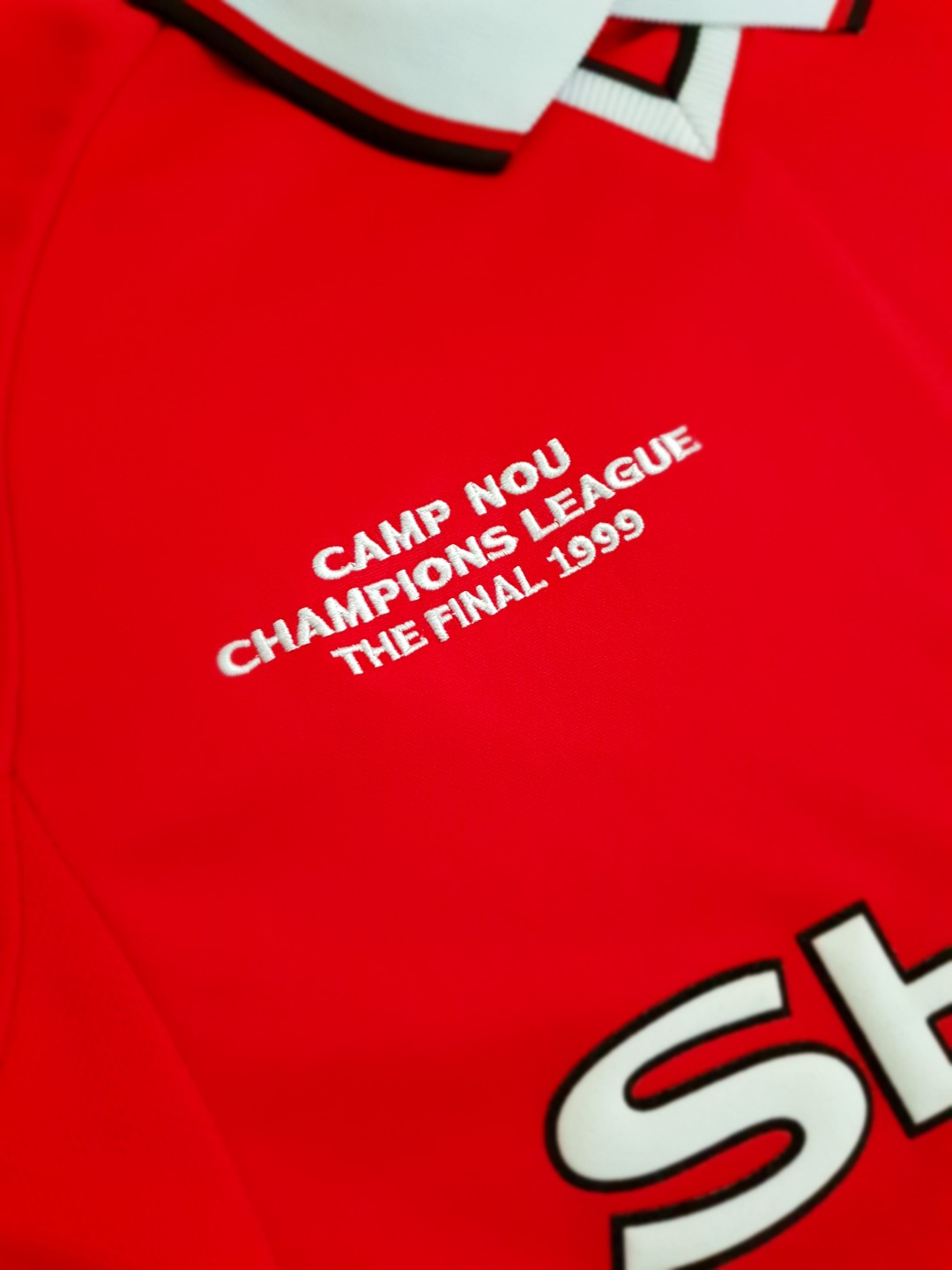 27fbdd29d8f Manchester United Retro Champions League Final Shirt 1999 – EDGE ...
