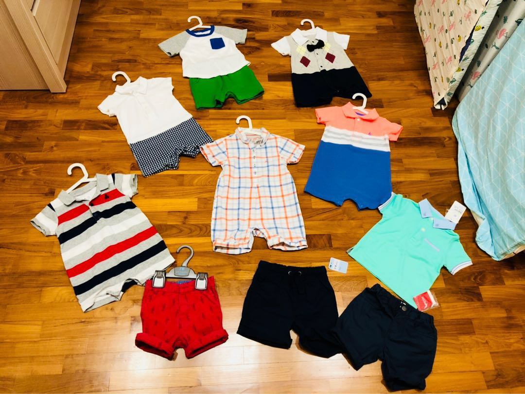 6185ebaff Brand baby boy clothes clearance - chateau de sable, gingersnaps ...
