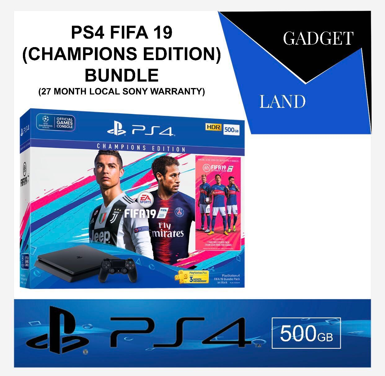 Brand New Ps4 Fifa 19 Bundle Toys Games Video Gaming Consoles Sony 500gb Dvd 2015 Photo