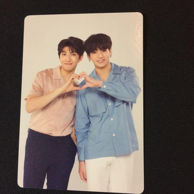 BTS LOVE YOURSELF WORLD TOUR official mini photocard