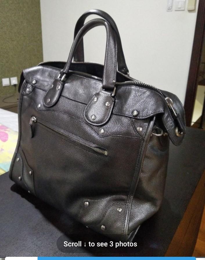949f4af9 Coach Work Bag In Grey