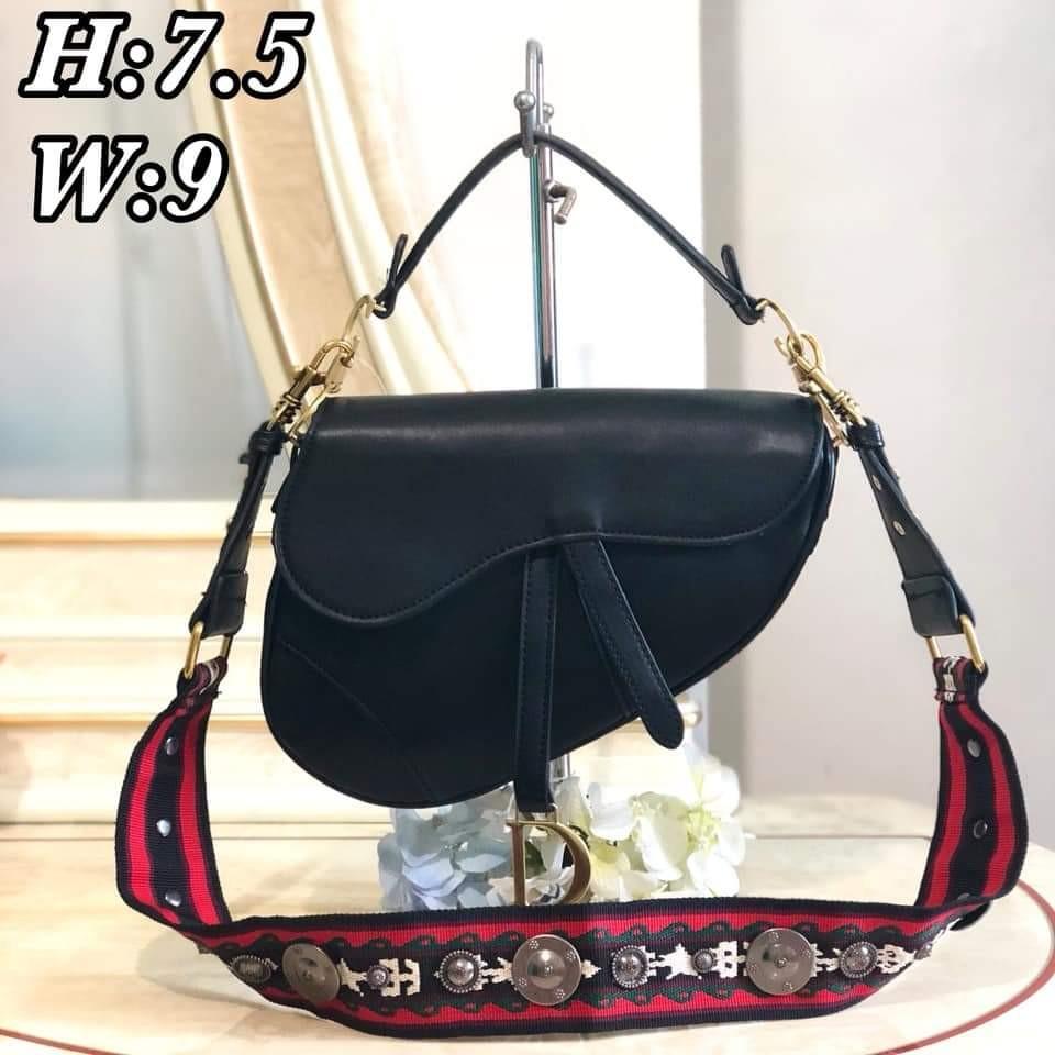 89600428320e Dior Saddle Plain Leather