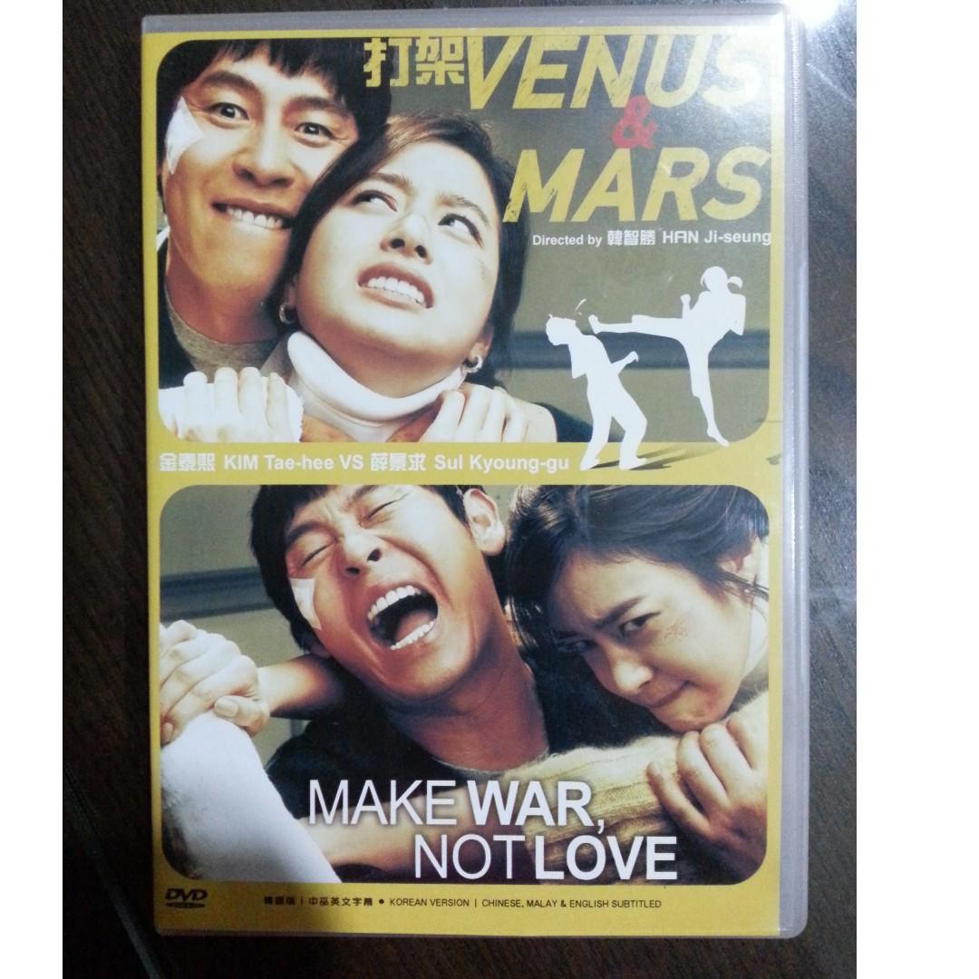 Garage Sale Original Korean Drama Dvd Title Venus Mars Make