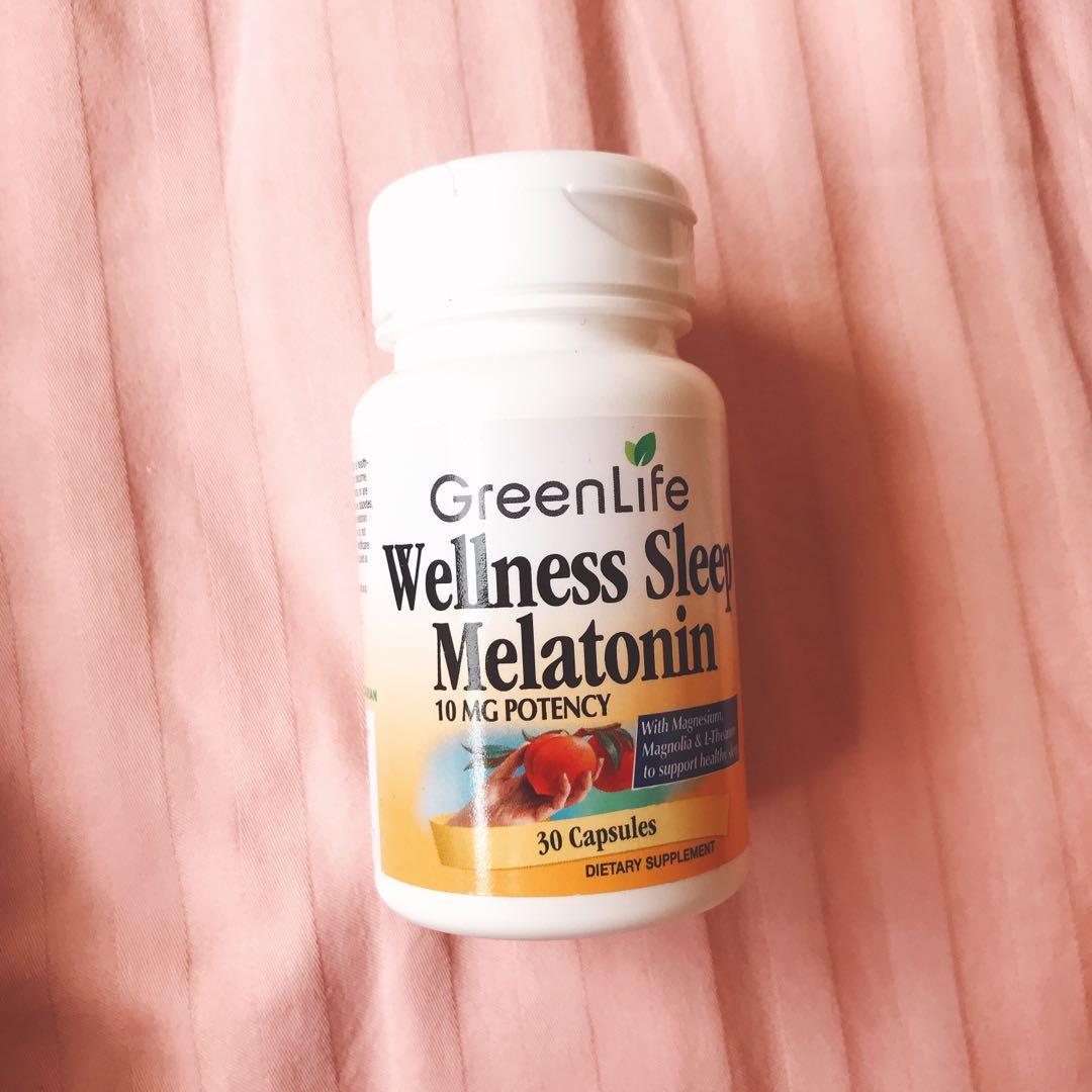 GreenLife Wellness Sleep Melatonin 10mg