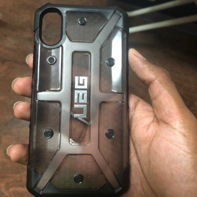 premium selection a582f dbcb3 Iphone X - UAG plasma case(ash)