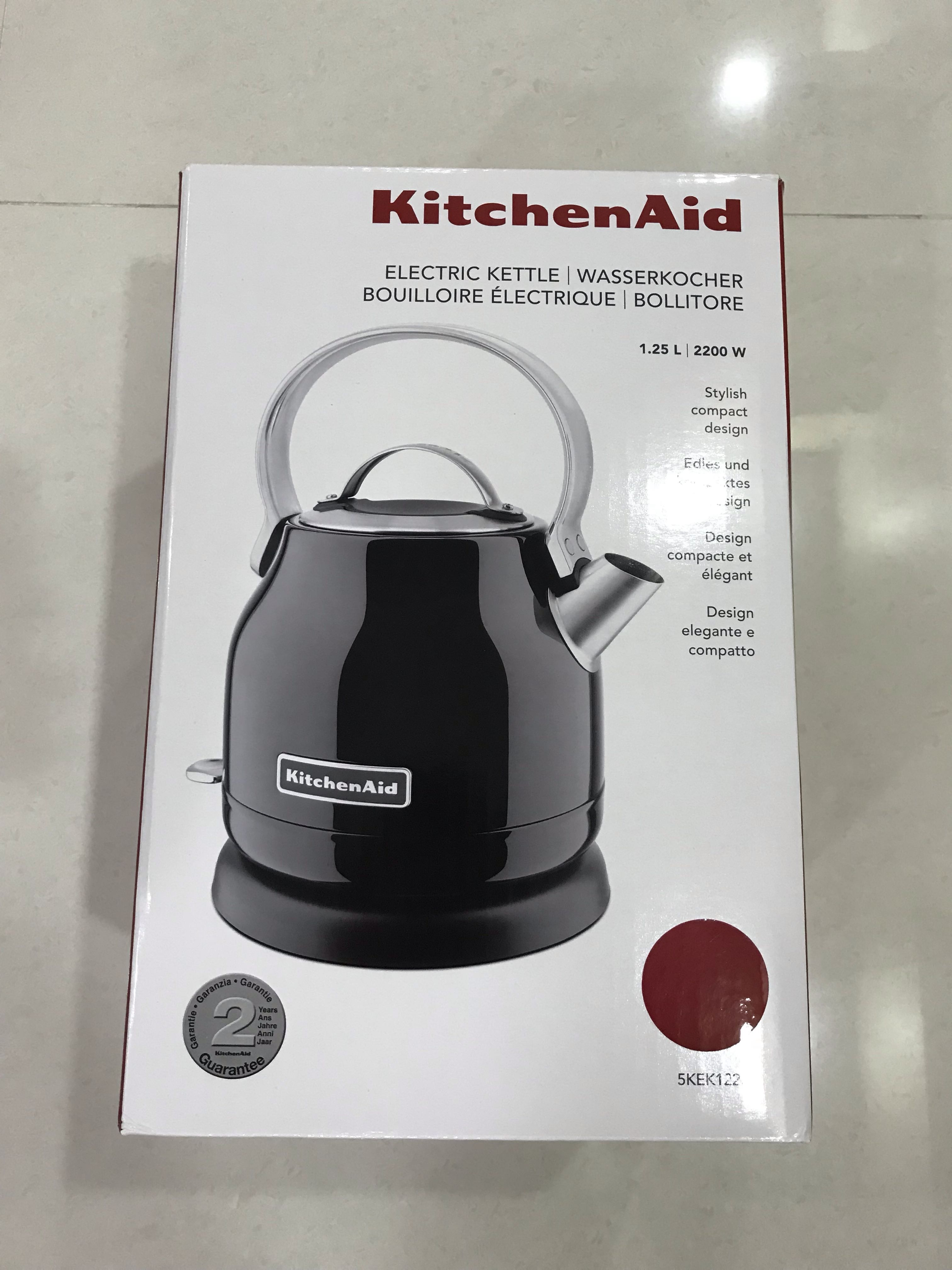 Kitchen Aid Electric Kettle Home Appliances Kitchenware On Carousell