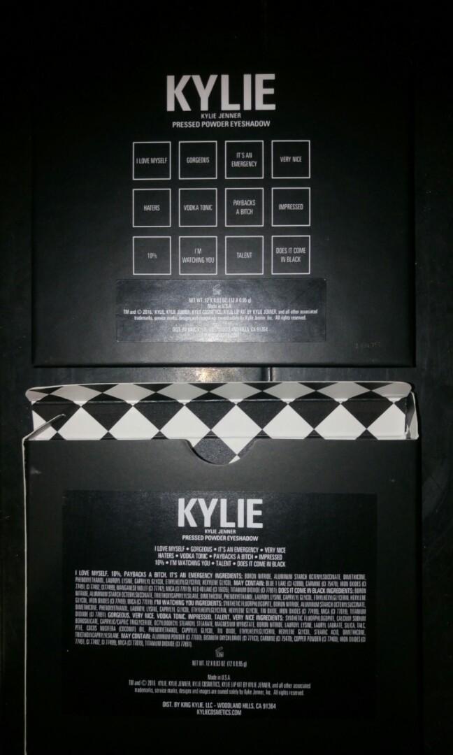 Kylie cosmetics - Kylie x Kris eyeshadow palette (limited edition)
