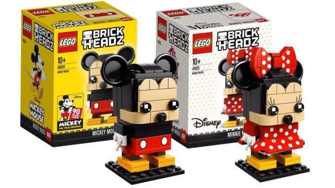 Lego 41624 Mickey Mouse Disney Brickheadz brand new sealed