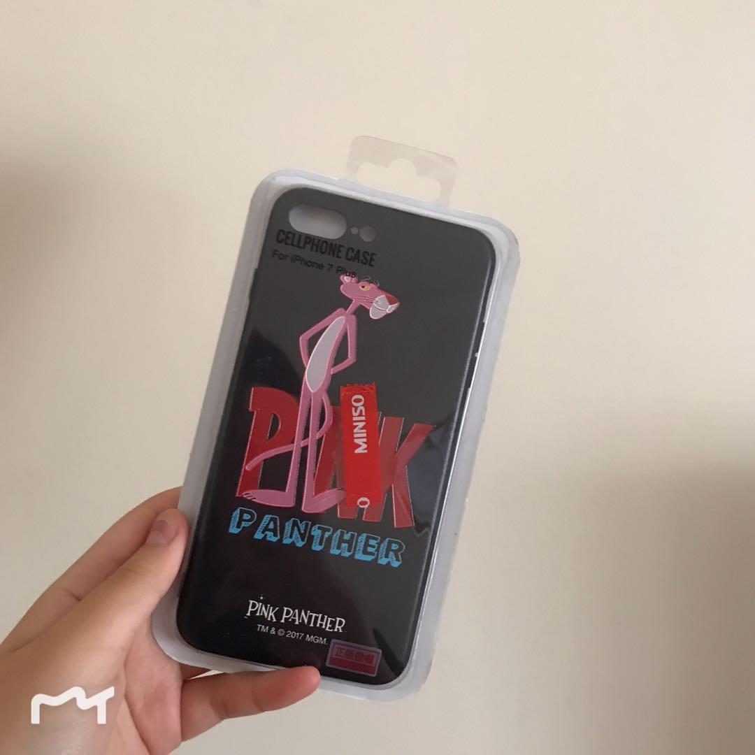 Limited edition pink panther iPhone 7 Plus case cover