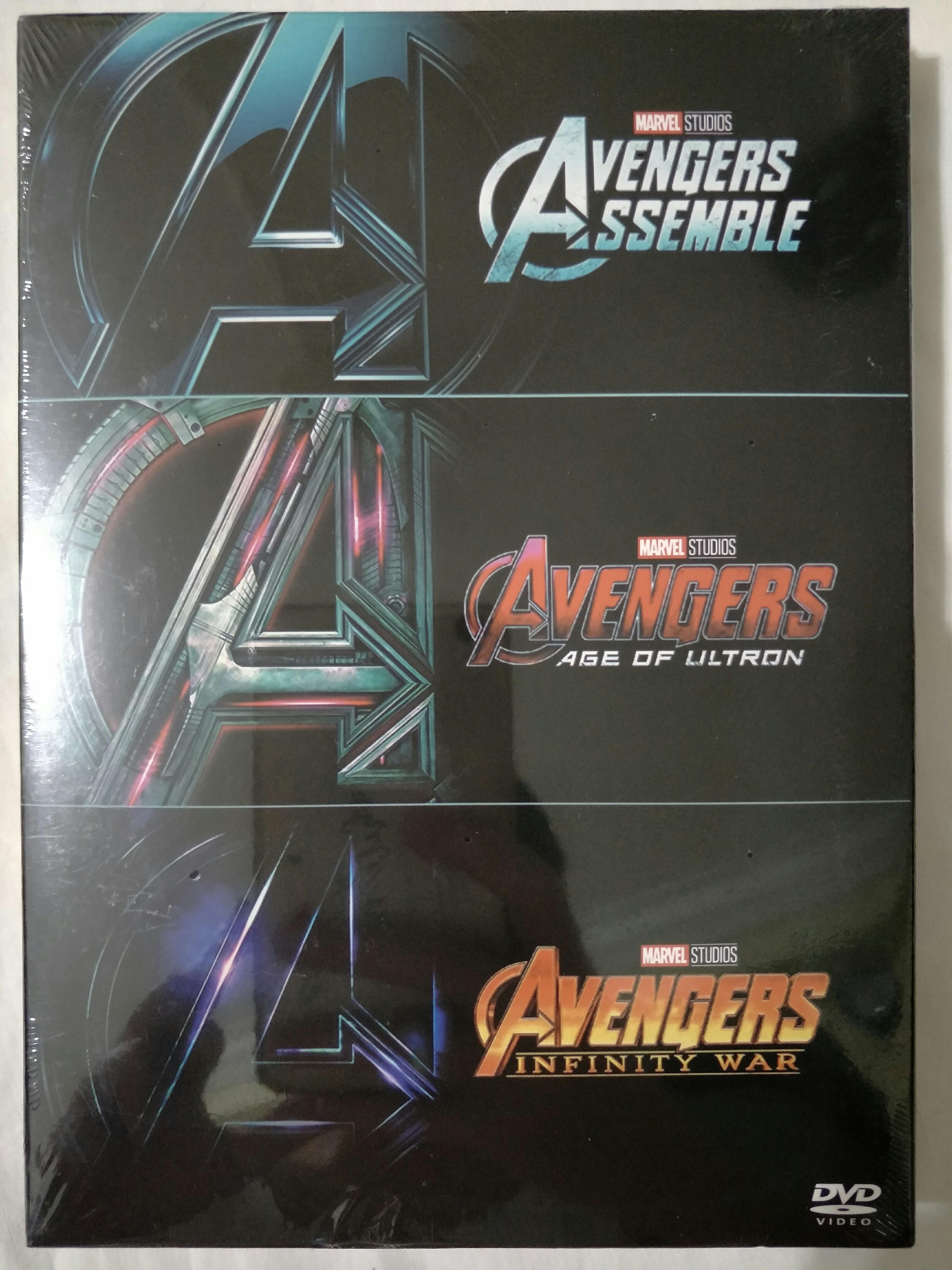 Movie Empire] Marvel Avengers - Trilogy Movie Collection DVD