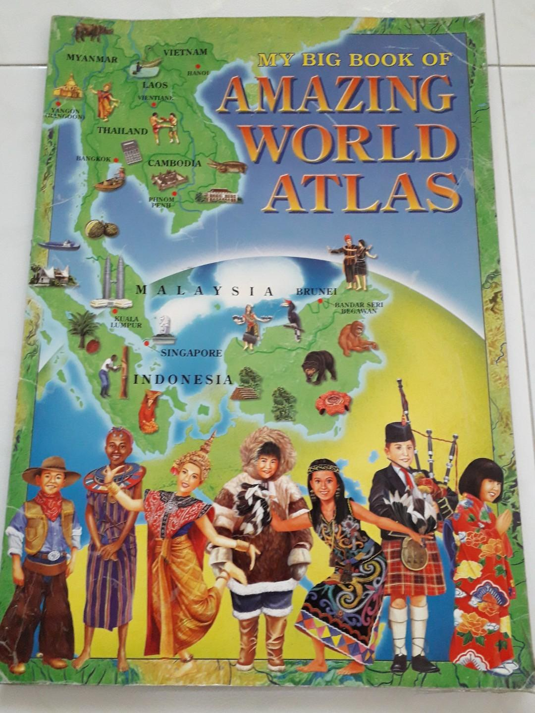 My Big Book of Amazing World Atlas, Books & Stationery