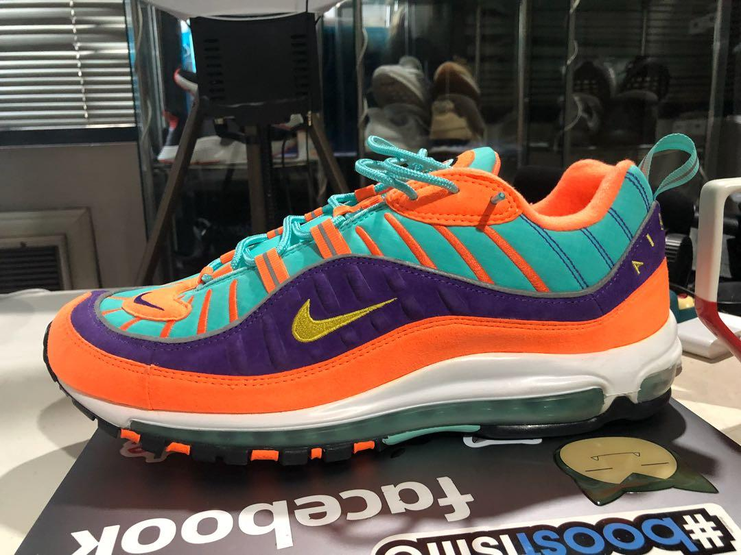 Nike Air Max 98 Cone (S12, Used Once)