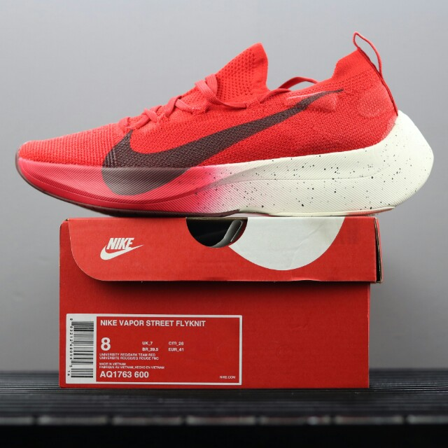 7064358129f Nike Vapor Street Flyknit 馬拉松專業跑鞋AQ1763-600