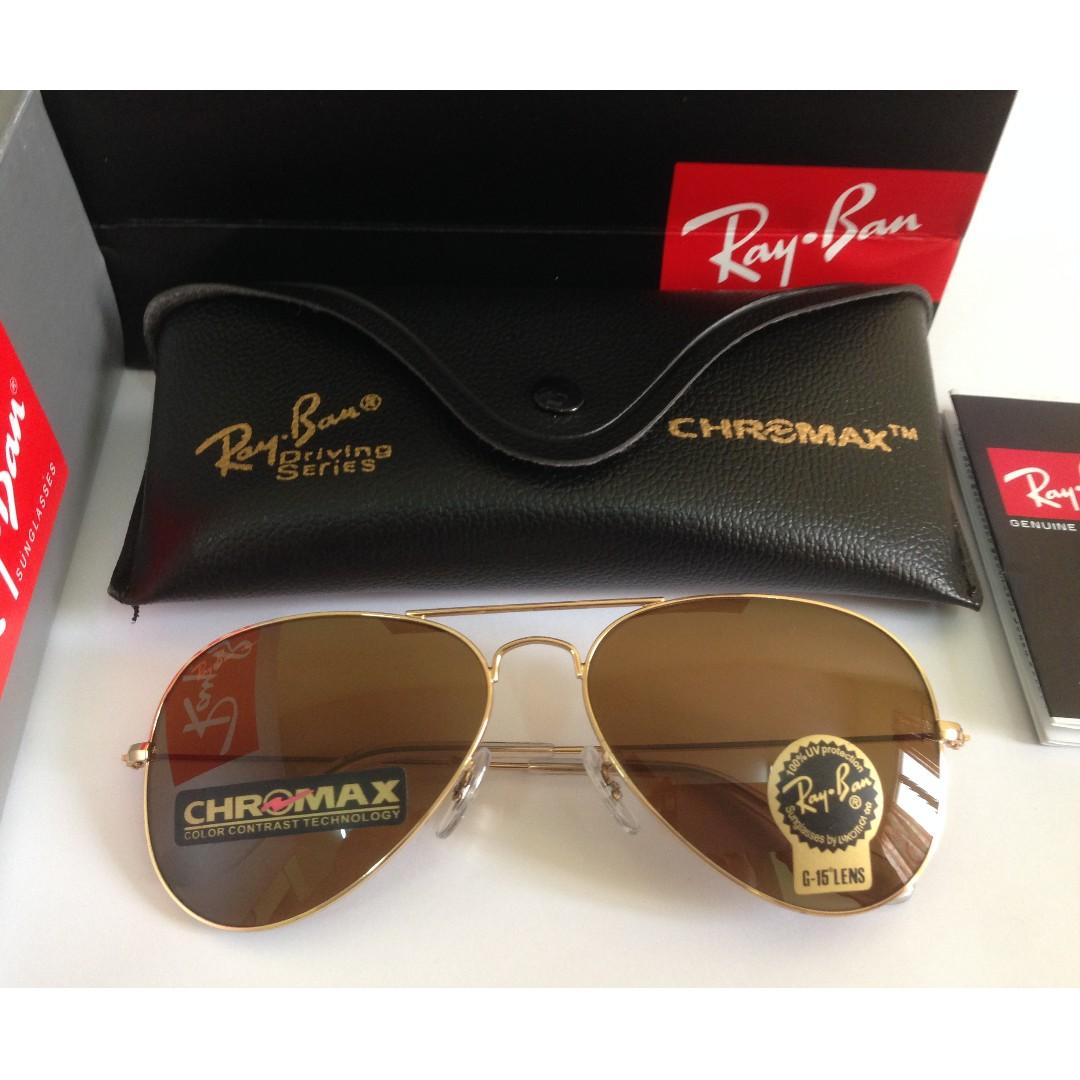 756b7056b0 Original Rayban Aviator chromax Driving Series