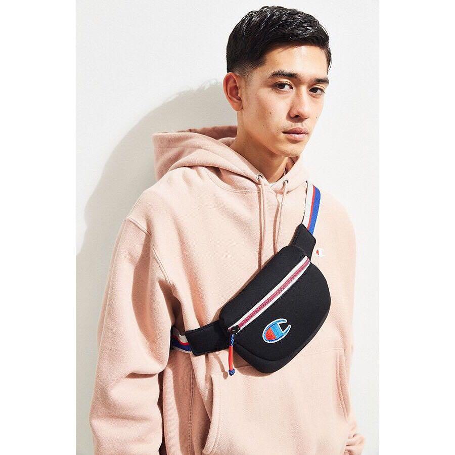 3d5629ada233 PO) Authentic Champion Attribute Sling Bag