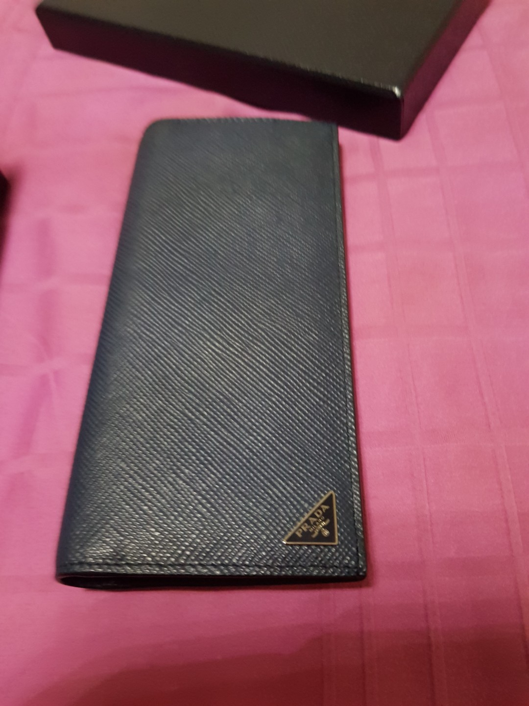 e1169d99654c Prada Mens Wallet, Men's Fashion, Bags & Wallets, Wallets on Carousell