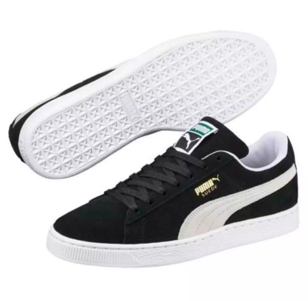 size 40 3c624 f0e38 Puma Basket Suede Black, Men's Fashion, Footwear, Sneakers ...