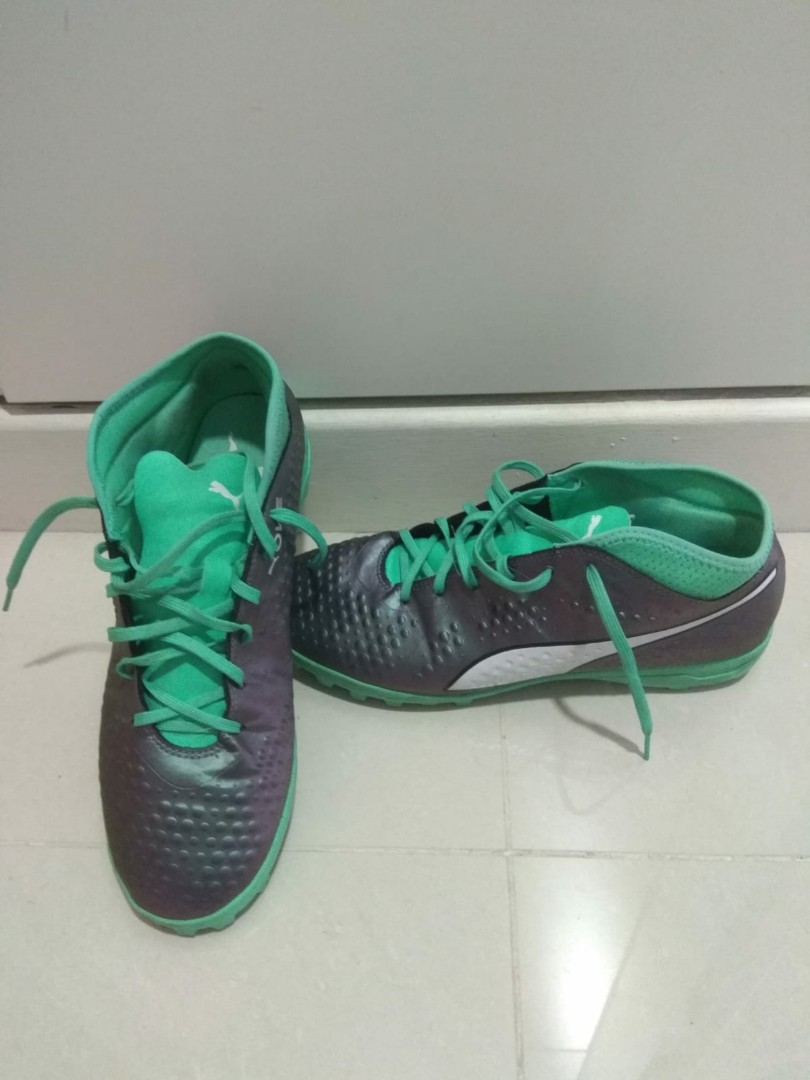 93bc23101fc2 Puma One Astro Turf Soccer Boots, Sports, Sports Apparel on Carousell