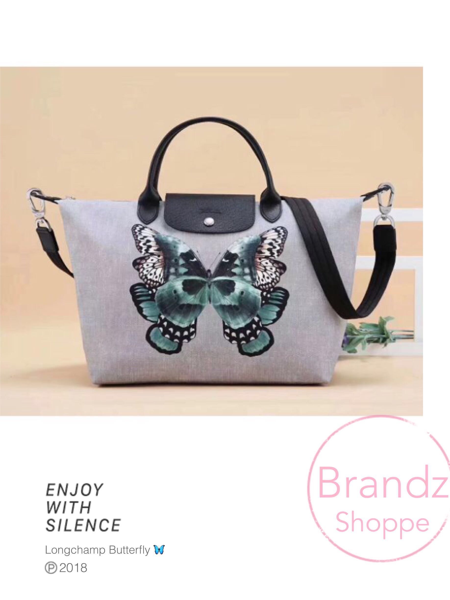 233b8343eae6 🦋SALE! 2018 New Collection   Longchamp Le Pliage Butterfly 🦋 Top ...