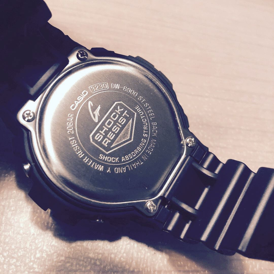 692f56a754e07 Sale 🆕  ✅💯Authentic Casio G-Shock classic WATCH DW6900-1V - Black ...