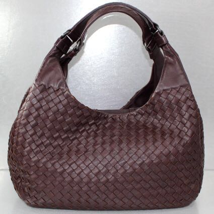 SALES!! Bottega Veneta Burgundy Shoulder Bag 3b7175ee393e4