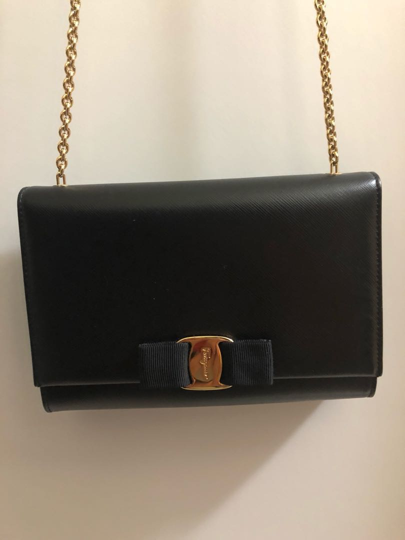 44b163120575 Salvatore Ferragamo Vara Mini Bag